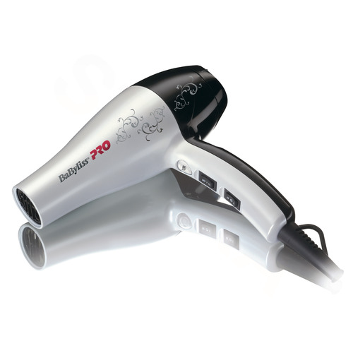 BaByliss PRO Fén PEARL PRO LIGHT 2000 - bílý BAB5559WTE