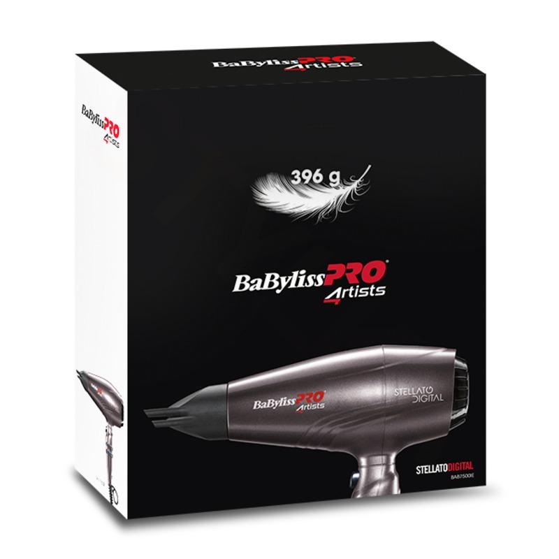 BaByliss PRO BAB7500IE 4Artists Stellato Digital Profesionální fén