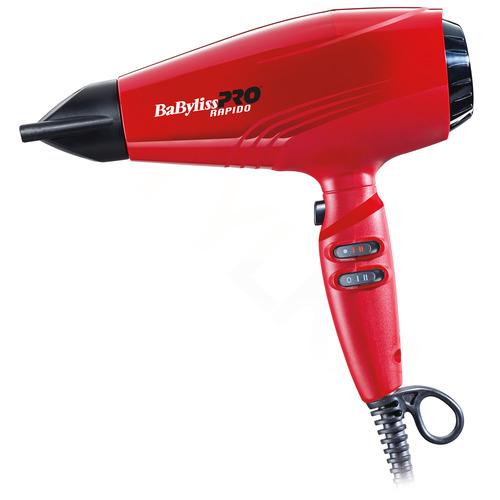 BaByliss PRO Profesionální fén Rapido Red BAB7000IRE