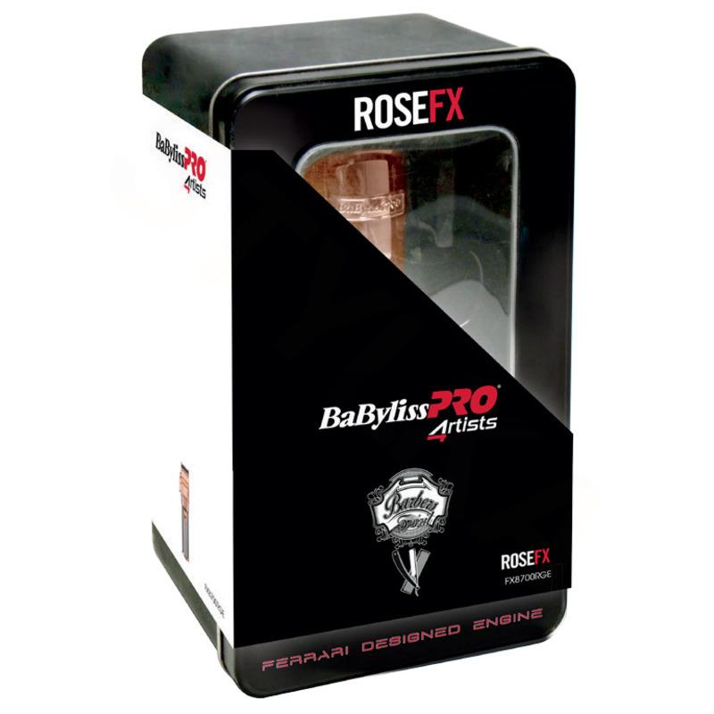 BaByliss PRO Profesionální zastřihovač vlasů Rose FX7880RGE
