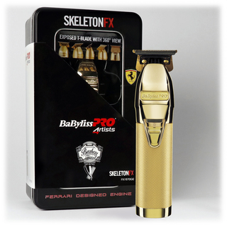 BaByliss PRO FX7870GE SkeletonFX Gold Profesionální zastřihovač vlasů