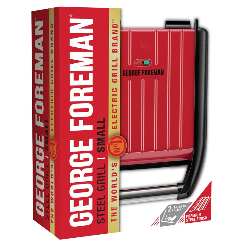 George Foreman 25030-56 Compact Steel Gril