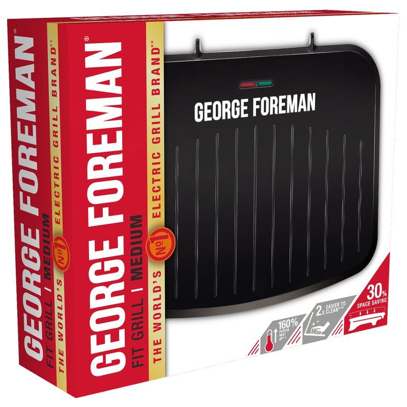 George Foreman 25810-56 Střední gril