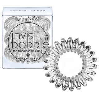 Invisibobble Crystal Clear Original - průhledné gumičky