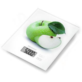Medisana KS 210 digitální kuchyňská váha s motivem zeleného jablka