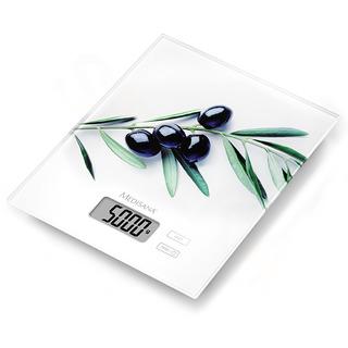 Medisana KS 210 digitální kuchyňská váha s olivovým motivem