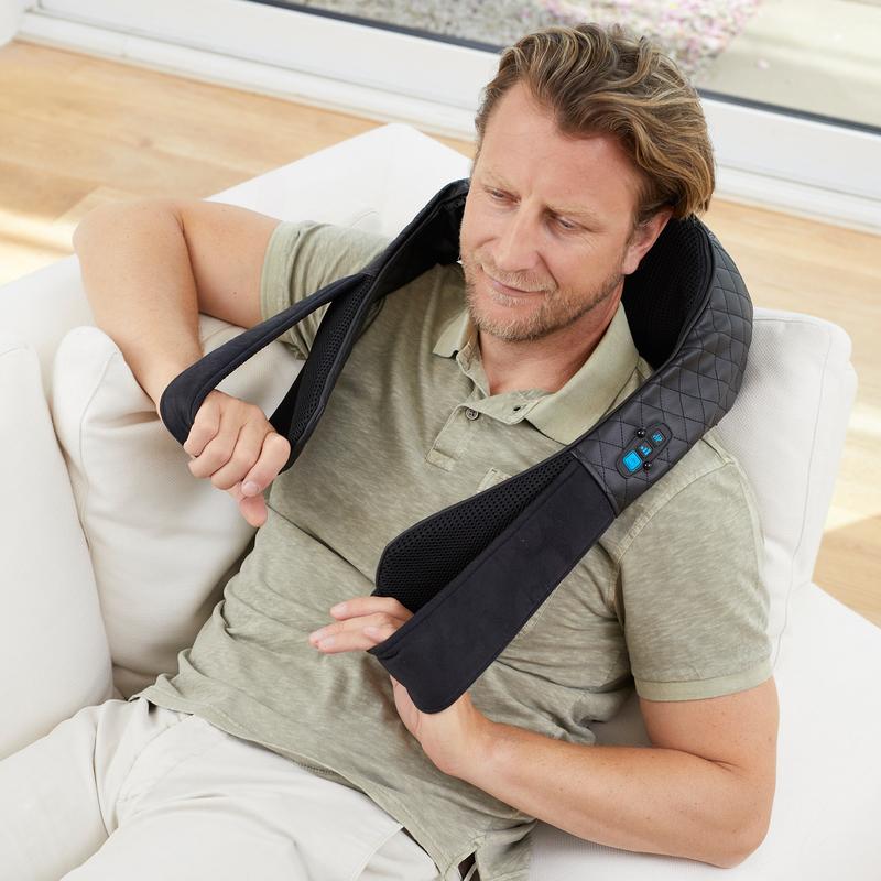 Medisana NMG 850 Shiatsu masážní přístroj pro masáž šíje - černá