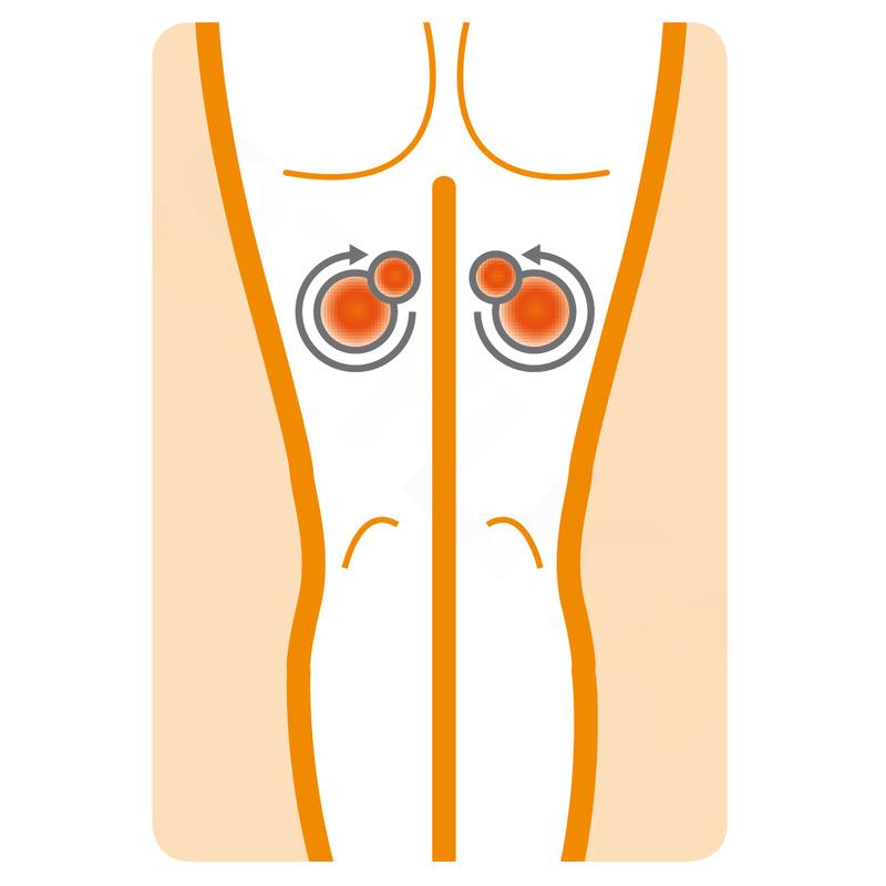 Medisana MCG 800 Shiatsu masážní polštář - černá