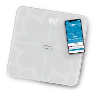 Medisana BS 450 Digitální váha propojitelná se smartphonem bílá