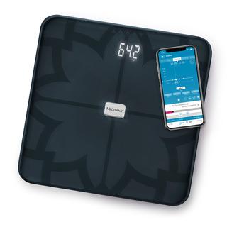 Medisana BS 450 Digitální váha propojitelná se smartphonem černá