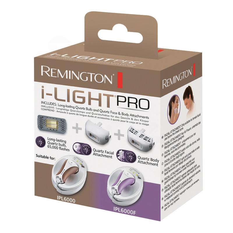 Remington SP6000FQ IPL náhradní žárovka a nástavce