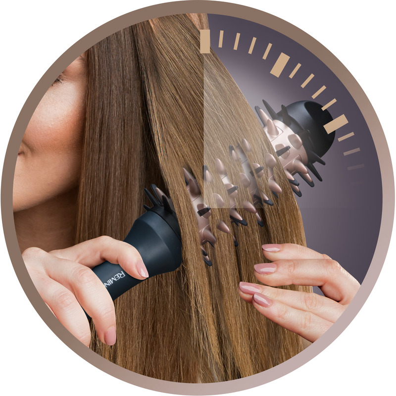 Remington CB7A138 Žehlící kartáč pro objem a rovné vlasy