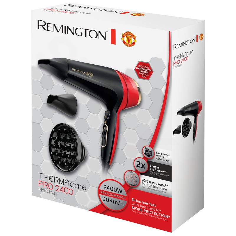Remington D5755 Thermacare PRO 2400 Manchester United Fén na vlasy