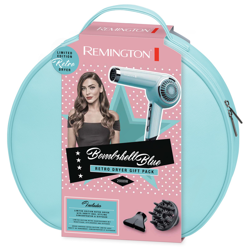 Remington DC4110OB Bombshell Blue Retro fén na vlasy