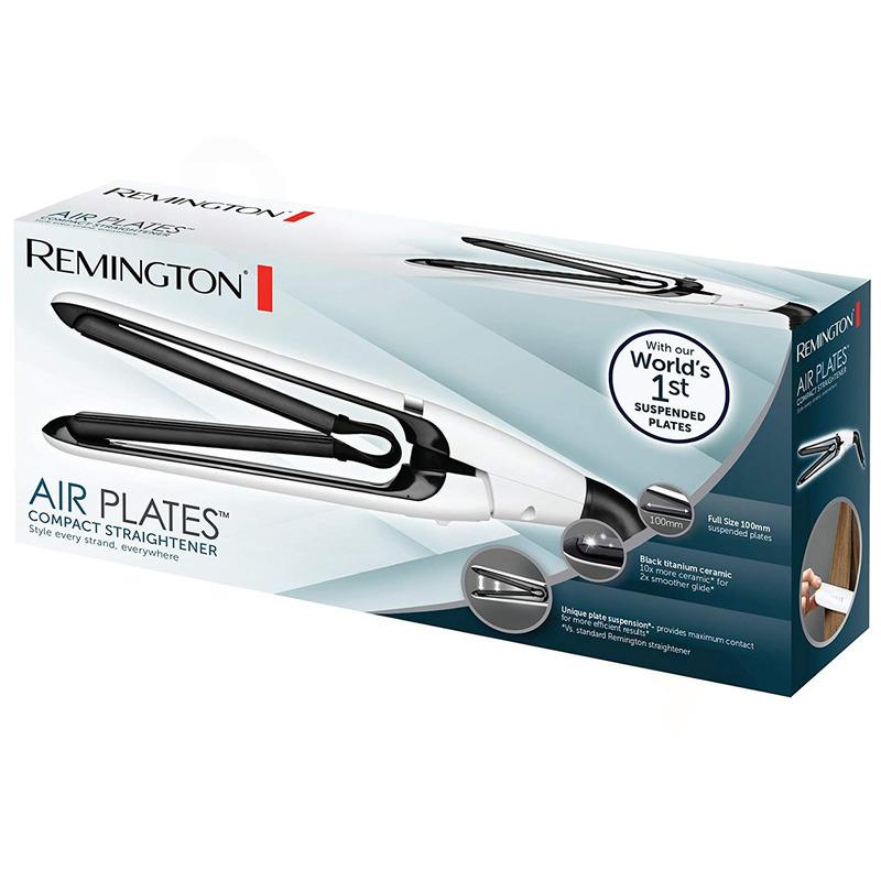 Remington S2412 Air Plates Kompaktní žehlička na vlasy