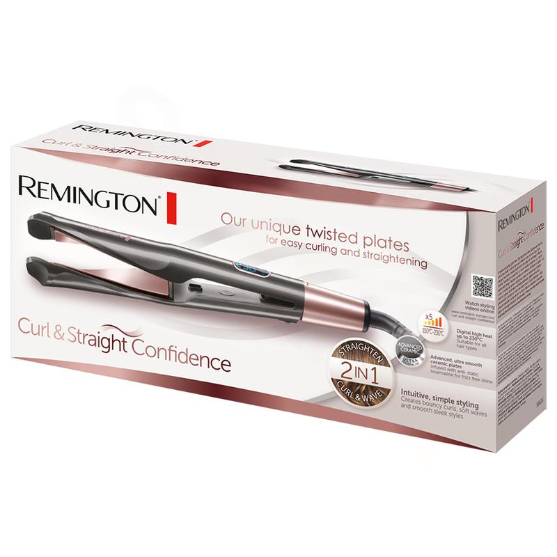 Remington S6606 Curl & Straight Confidence Žehlička na vlasy