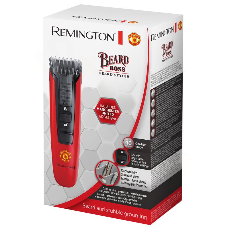 Remington MB4128 Boss Manchester United Zastřihovač vousů