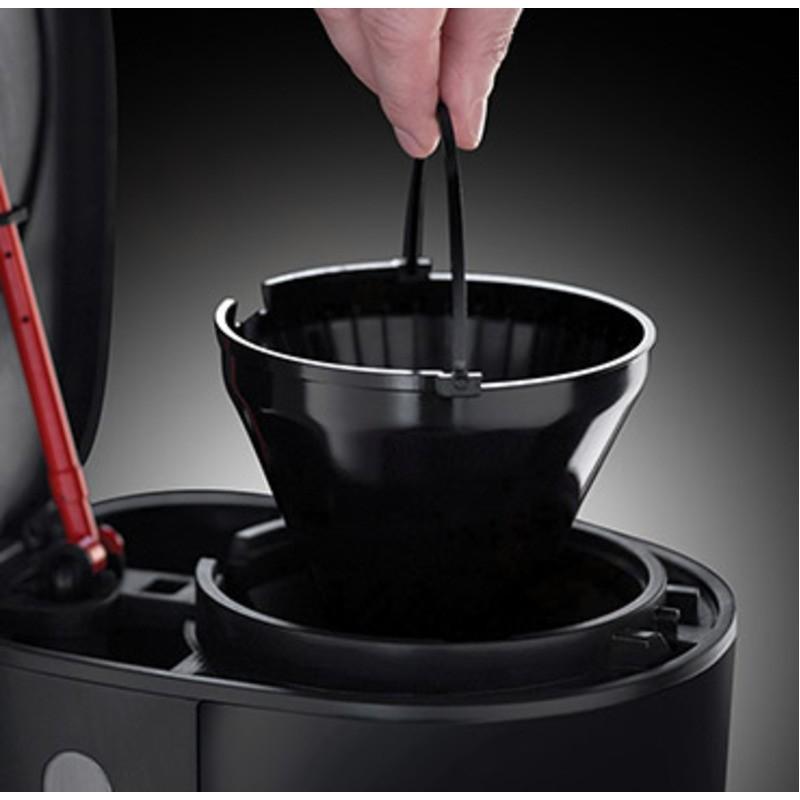 Russell Hobbs 21710-56 Retro Ribbon Red termální kávovar