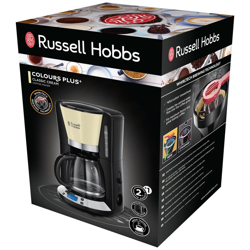 Russell Hobbs 24033-56 Colours Classic Cream Kávovar