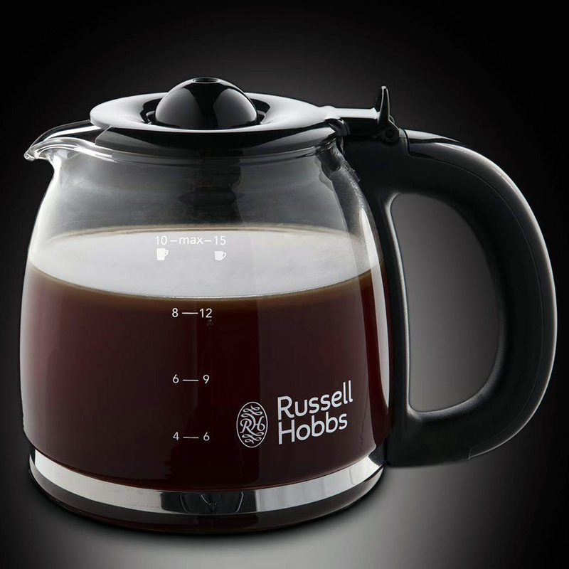 Russell Hobbs 24031-56 Colours Flame Red Kávovar