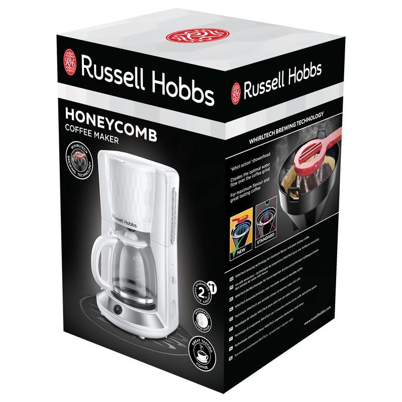 Russell Hobbs 27010-56 Honeycomb White Kávovar