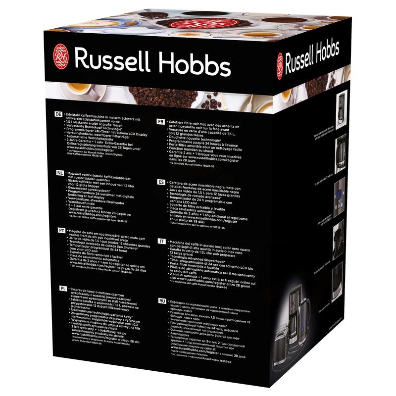 Russell Hobbs 26160-56 Kávovar Matte Black