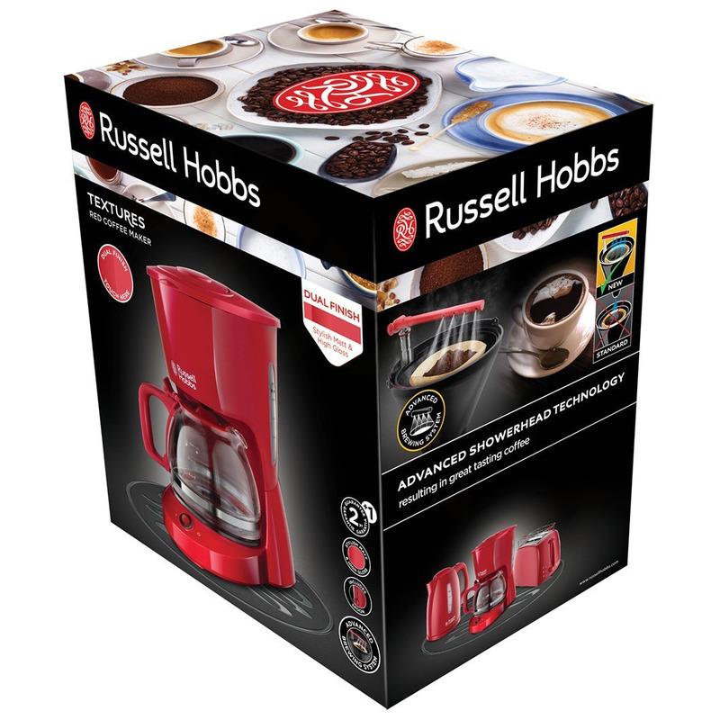 Russell Hobbs 22611-56 Textures Red Kávovar