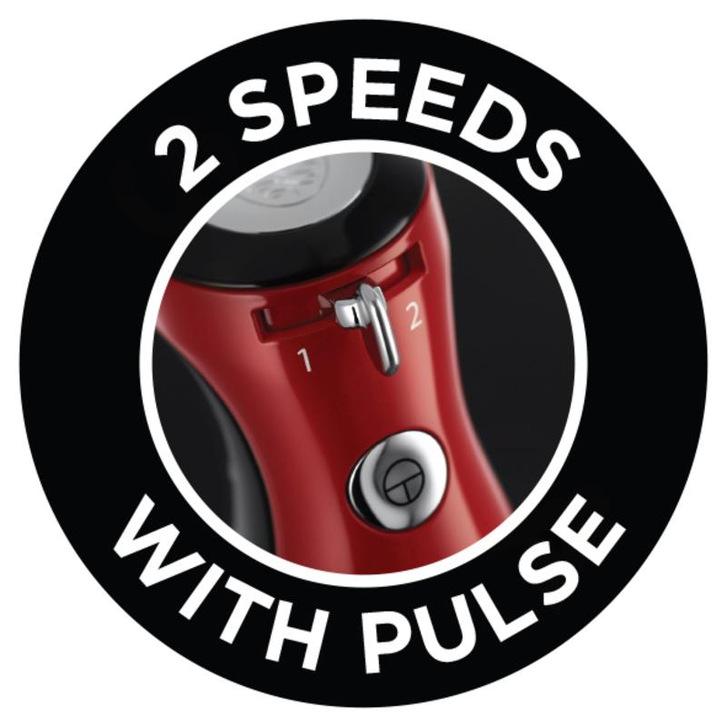 Russell Hobbs 25230-56 Retro Ribbon Red Tyčový mixér