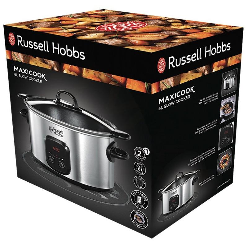 Russell Hobbs 22750-560 Maxicook pomalý hrnec s odnímatelným kastrolem
