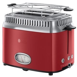 Russell Hobbs 21680-56 Retro Ribbon Red topinkovač