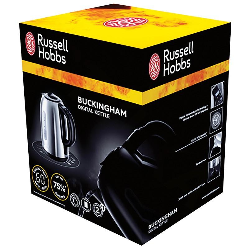 Russell Hobbs 21040-70 Digitální rychlovarná konvice Buckingham