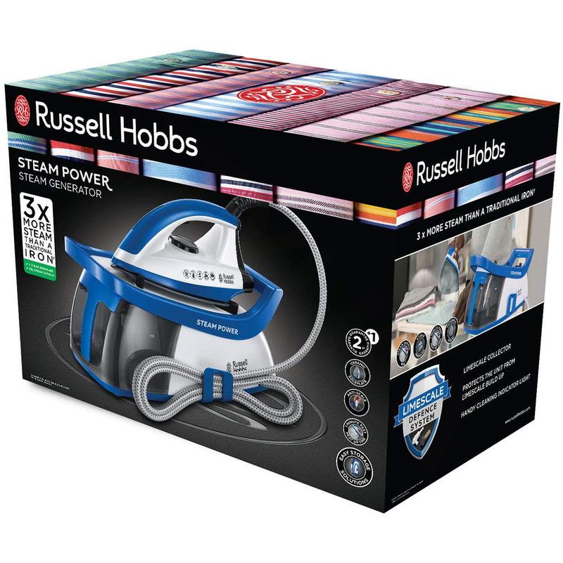 Russell Hobbs 24430-56 Steam power parní generátor - blue