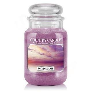 Country Candle Velká vonná svíčka ve skle Daydreams 652g