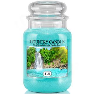 Country Candle Velká vonná svíčka ve skle Fiji 652g