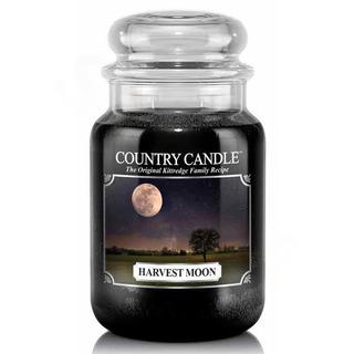 Country Candle Velká vonná svíčka ve skle Harvest moon 652g