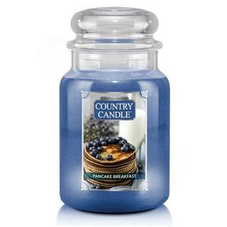 Country Candle Velká vonná svíčka ve skle Pancake Breakfast 652g