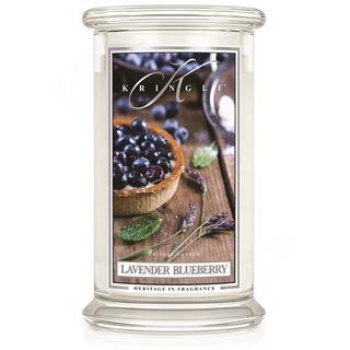 Kringle Candle  Velká vonná svíčka ve skle Lavender Blueberry 624g