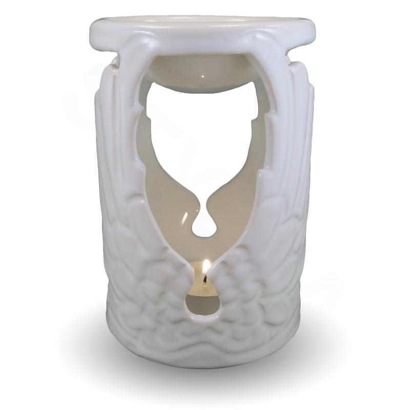 IM Ateliér Andělská keramická aromalampa