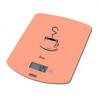 Bravo B-5112 digitální kuchyňská váha Sany - oranzova