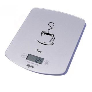 Bravo B-5112 digitální kuchyňská váha Sany - stříbrná