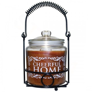 Cheerful Giver Home velká vonná svíčka ve skle 737g Medovo-hruškový cider
