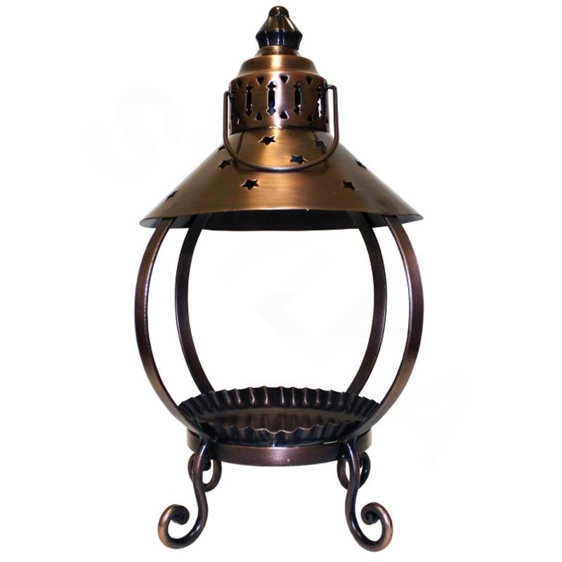 Cheerful Giver Měděná lucerna na svíčku - hvězda