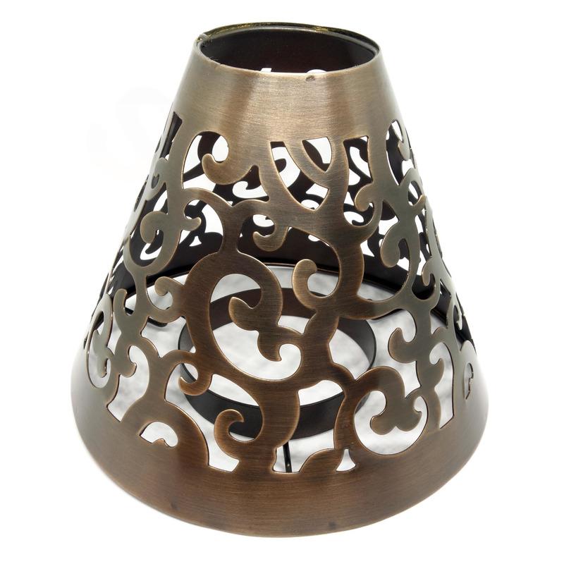 Cheerful Giver Měděné dekorační stínítko na svíčku
