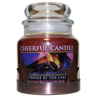 Cheerful Giver Měděný nízký stojan na svíčku - hvězda