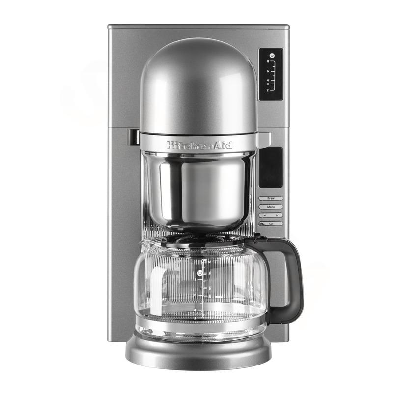 KitchenAid Kávovar na přelévanou kávu 5KCM0802ECU stříbrná