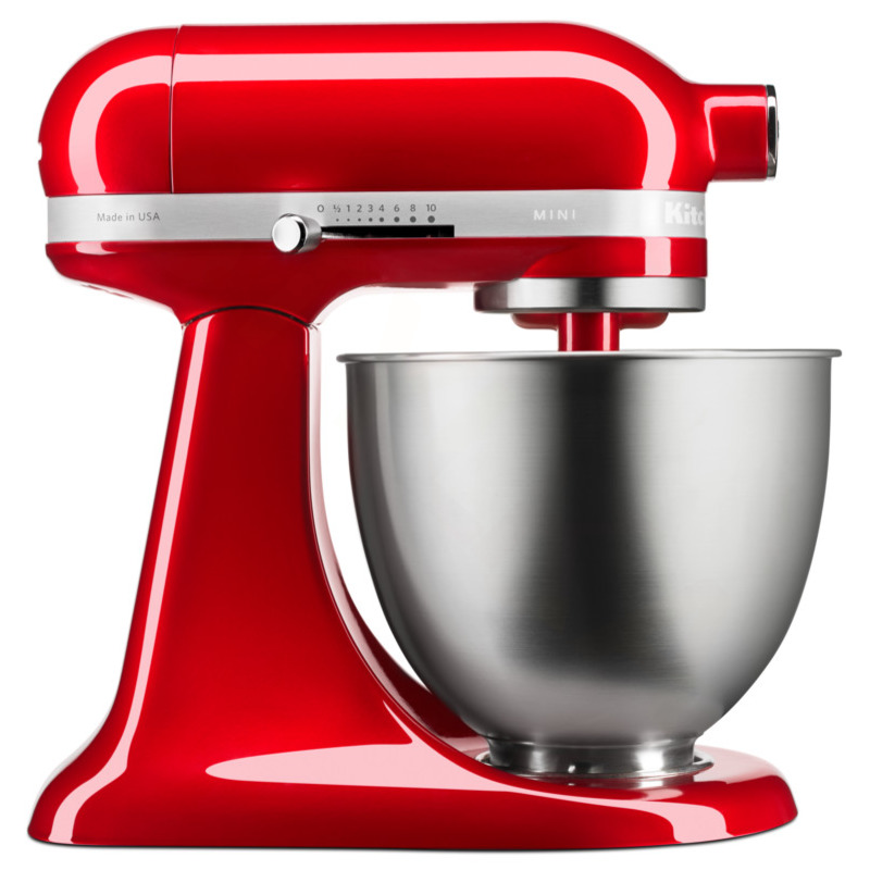 KitchenAid Robot Artisan 5KSM3311XECA červená metalíza