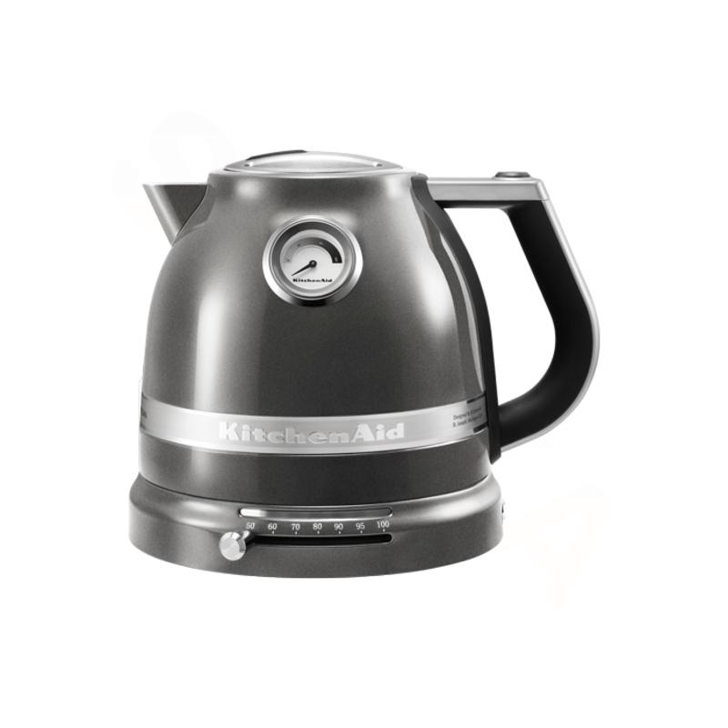 KitchenAid Rychlovarná konvice Artisan 5KEK1522EMS stříbřitě šedá