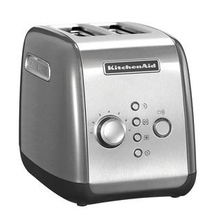 KitchenAid Toustovač 5KMT221ECU stříbrná