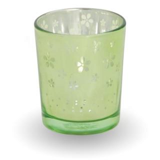 Bridgewater Candle Skleněný svícen na votivní svíčku - zelený