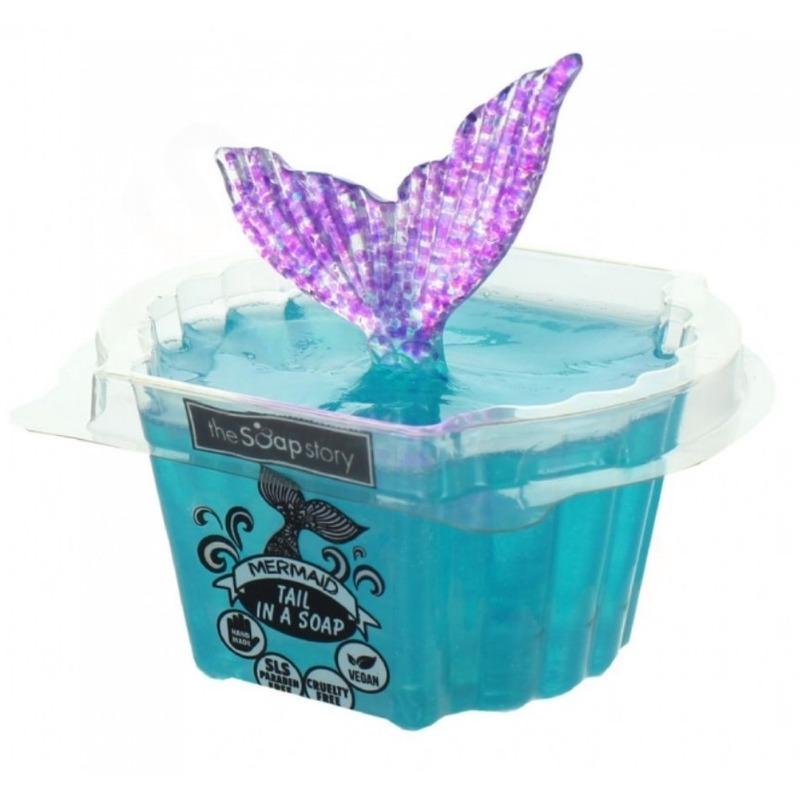 The Soap Story Mýdlo s hračkou Mermaid Tail - Mořská panna